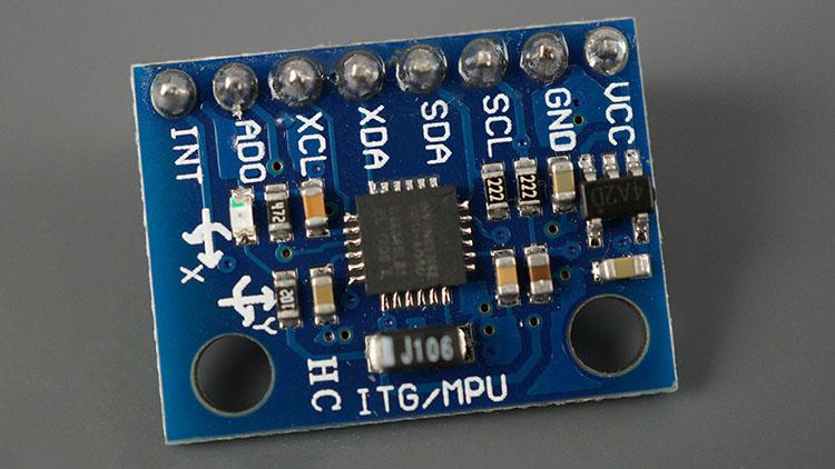 MPU-6050 Module Accelerometer Gyroscope Temperature Sensor