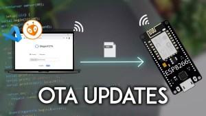 ESP8266 NodeMCU OTA Over-the-Air Updates AsyncElegantOTA VS Code PlatformIO IDE