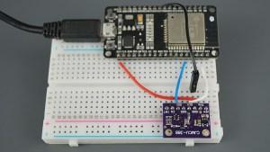 ESP32 BMP388 Sensor Altitude Pressure Temperature Arduino