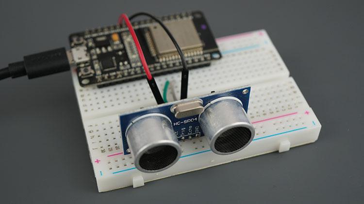 ESP32 Board HC-SR04 Ultrasonic Sensor Module Arduino Demonstration