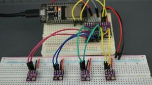 BME280 Demonstration TCA9548A I2C Multiplexer Sensor Module