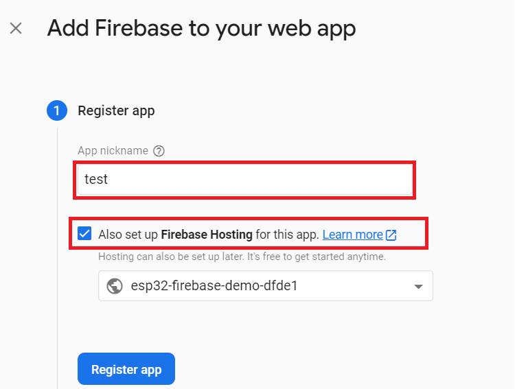 Add Firebase Project to Your App