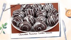 Chocolate Brownie Cookie Donuts