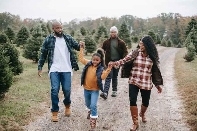 A family walk @Randomnestfamily