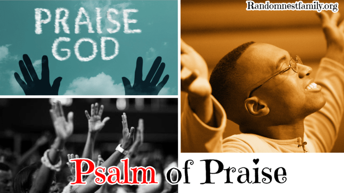 A Psalm of Praise @Randomnestfamily.org