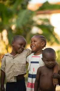 African siblings