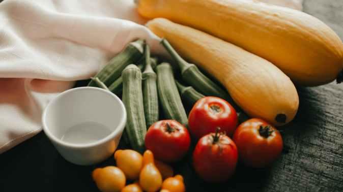 Fasting. Featuring garden grown vegetables. Daniel diet.