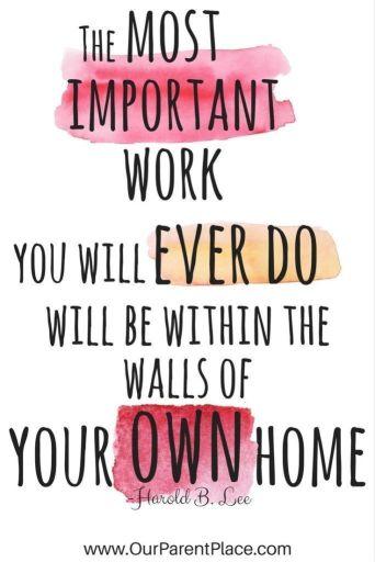 Parent encouragement image @randomnestfamily.org