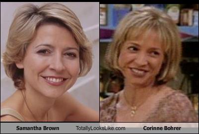 Samantha Brown Totally Looks Like Corinne Bohrer