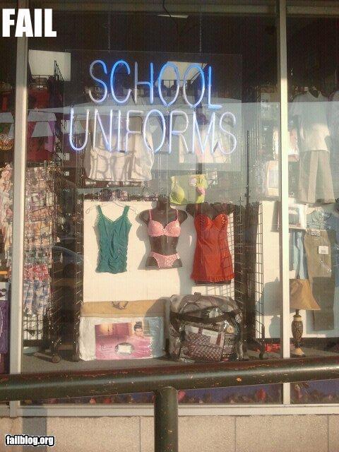 School Uniforms FAIL  RandomOverload