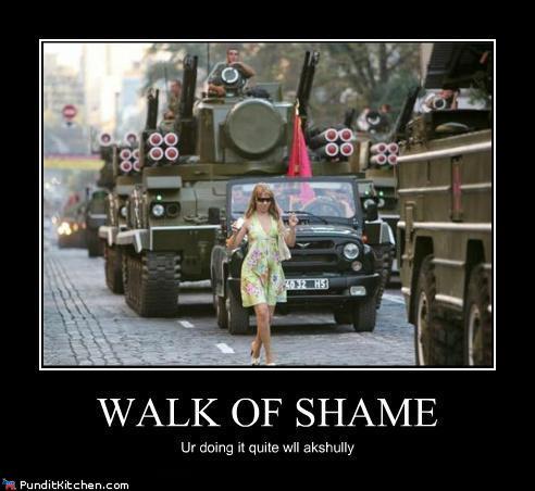 WALK OF SHAME RandomOverload