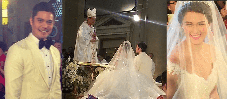 OFFICIALLY MARRIED - Dingdong Dantes and Marian Rivera ...