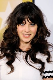 zooey deschanel hair random
