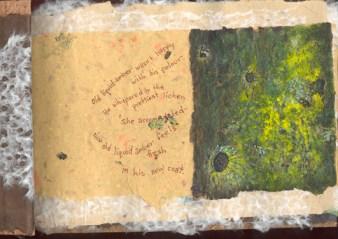 Lichen & moss old liquid amber