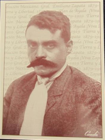 Emiliano Zapata - a brave revolutionary - 1879-1919
