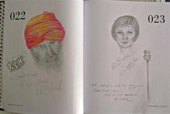 Ken(in the turban) and Ali Baba 22-23
