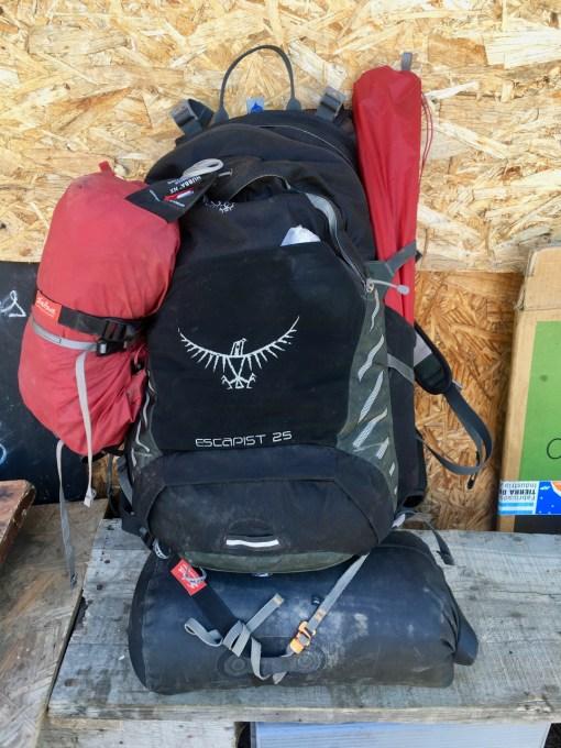 My hiking pack