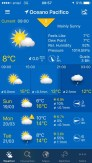 That's a very specific forecast for a rather large area!