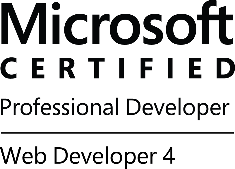 Microsoft Certified Professional Web Developer