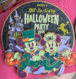 This Halloween Party pin was a must!