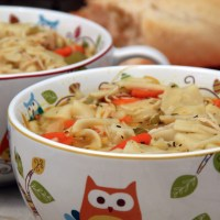 Magic Chicken Noodle Soup
