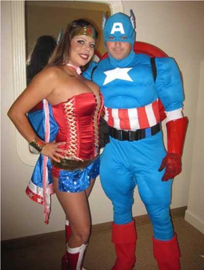 Duo womans captain america - 5 2