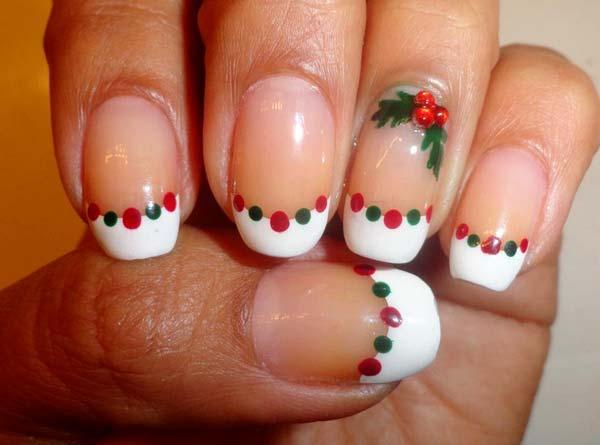 Diy Christmas Nail Art Designs