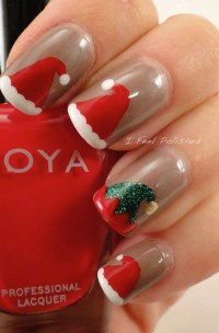 50 Fabulous Christmas Nail Art Designs - Random Talks