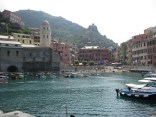 Vernazza harbour at sea level.