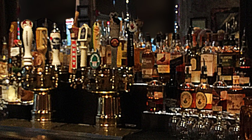 Blurry bar