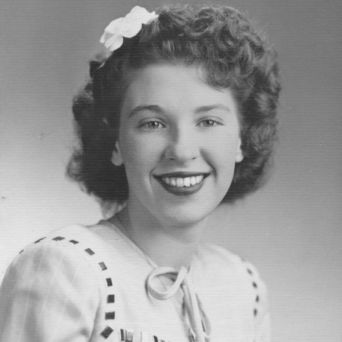 Mom's graduation picture, 1946