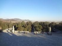 Pemandangan dari atas Kuil Buddha di Summer Palace
