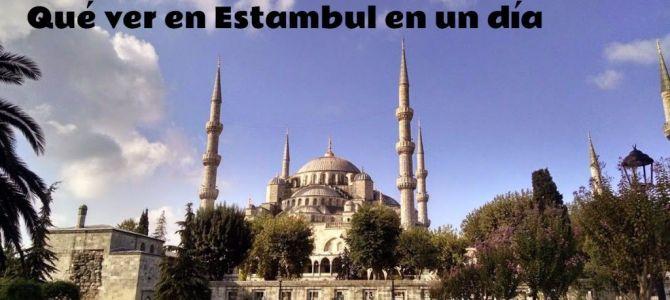 Qué ver en Estambul en un día : 20 horas dan para mucho