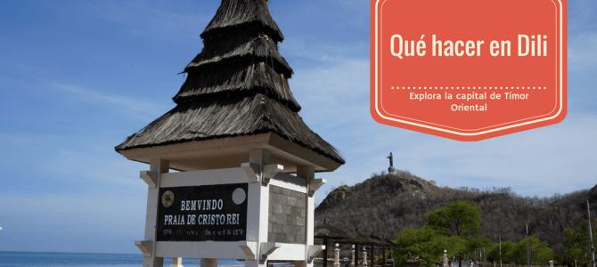 Qué hacer y qué comer en Dili, la capital de Timor Oriental