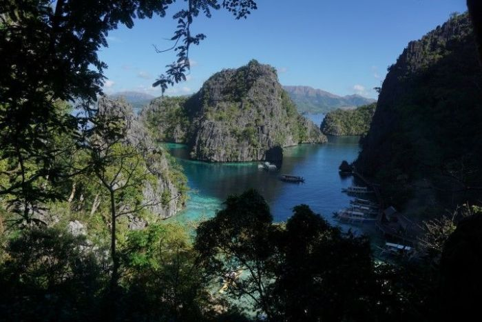La impresionante isla de Coron con sus lagos y mar cristalinos
