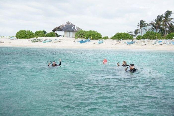 Día feliz de buceo en Malapascua