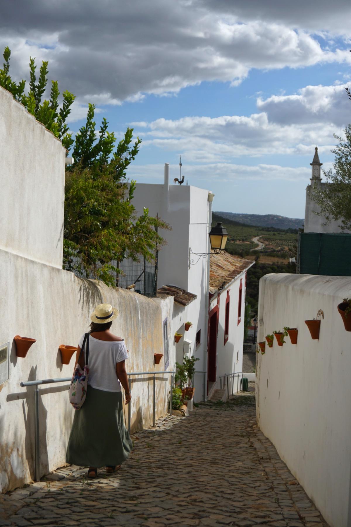 Alte, uno de los pueblos más bonitos del Algarve