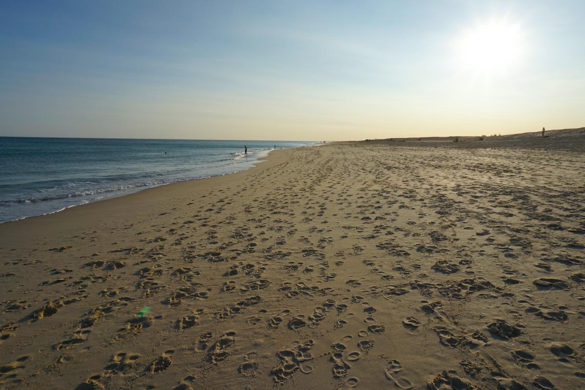 En la Praia do Homen Nu estuvimos casi en soledad haciendo nudismo