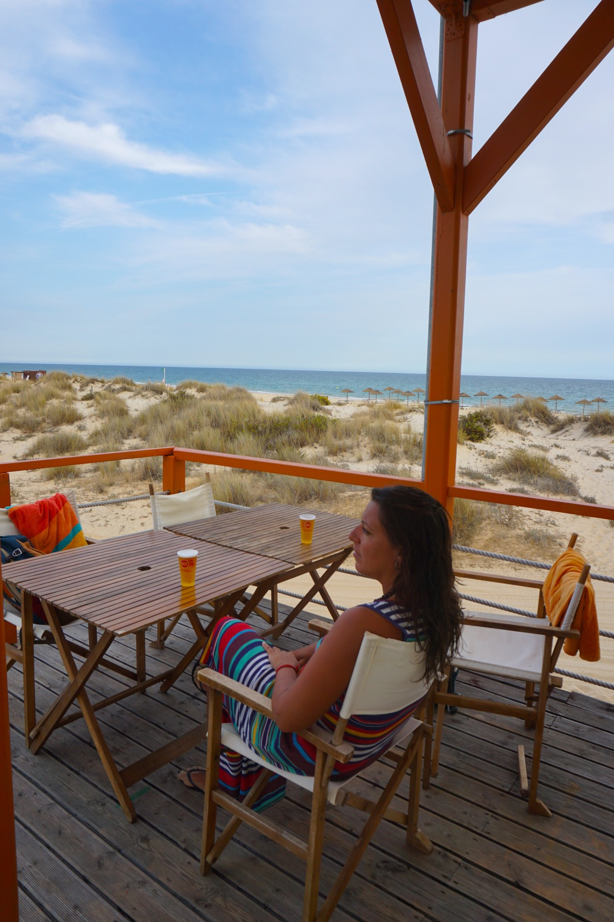 Bar de playa en Cabanas