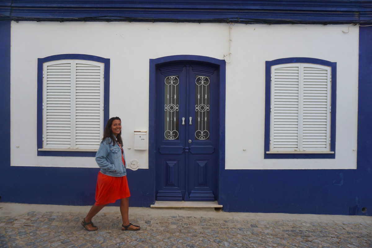 Cacela Velha: pueblo azul