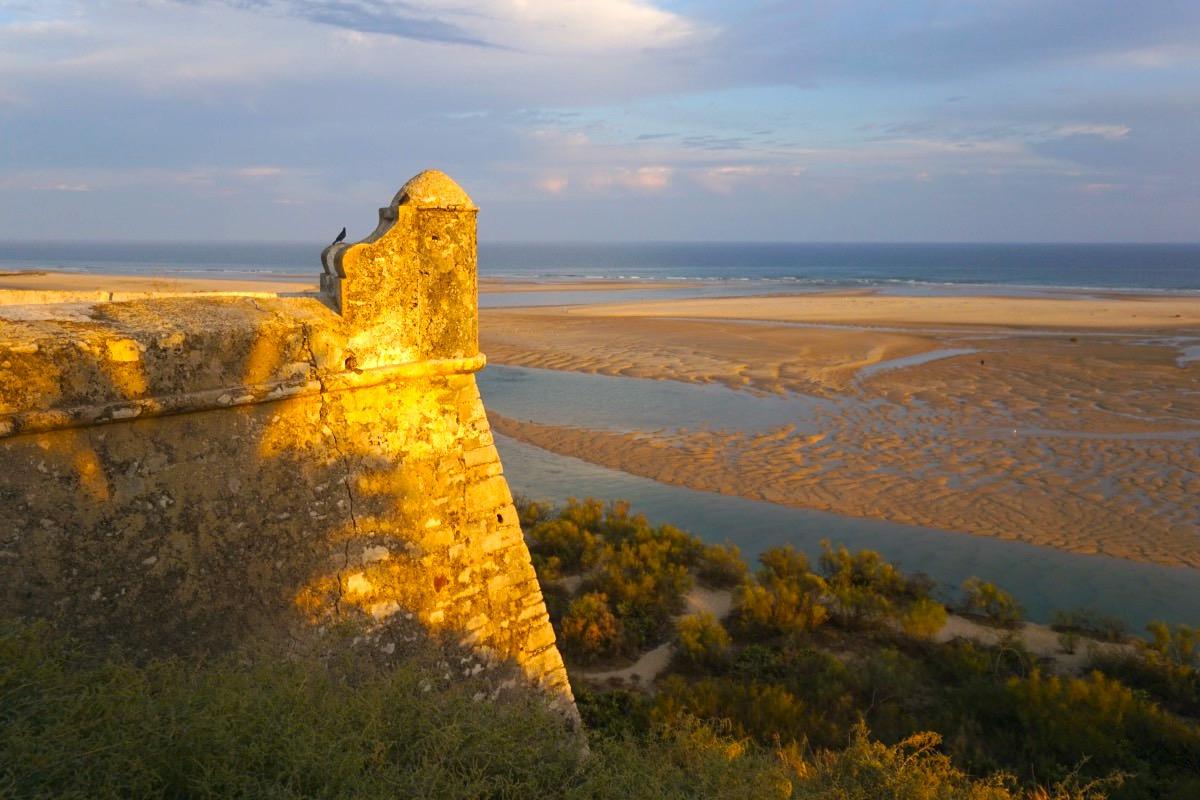 Atardecer en Cacela Velha con vistas a la ría
