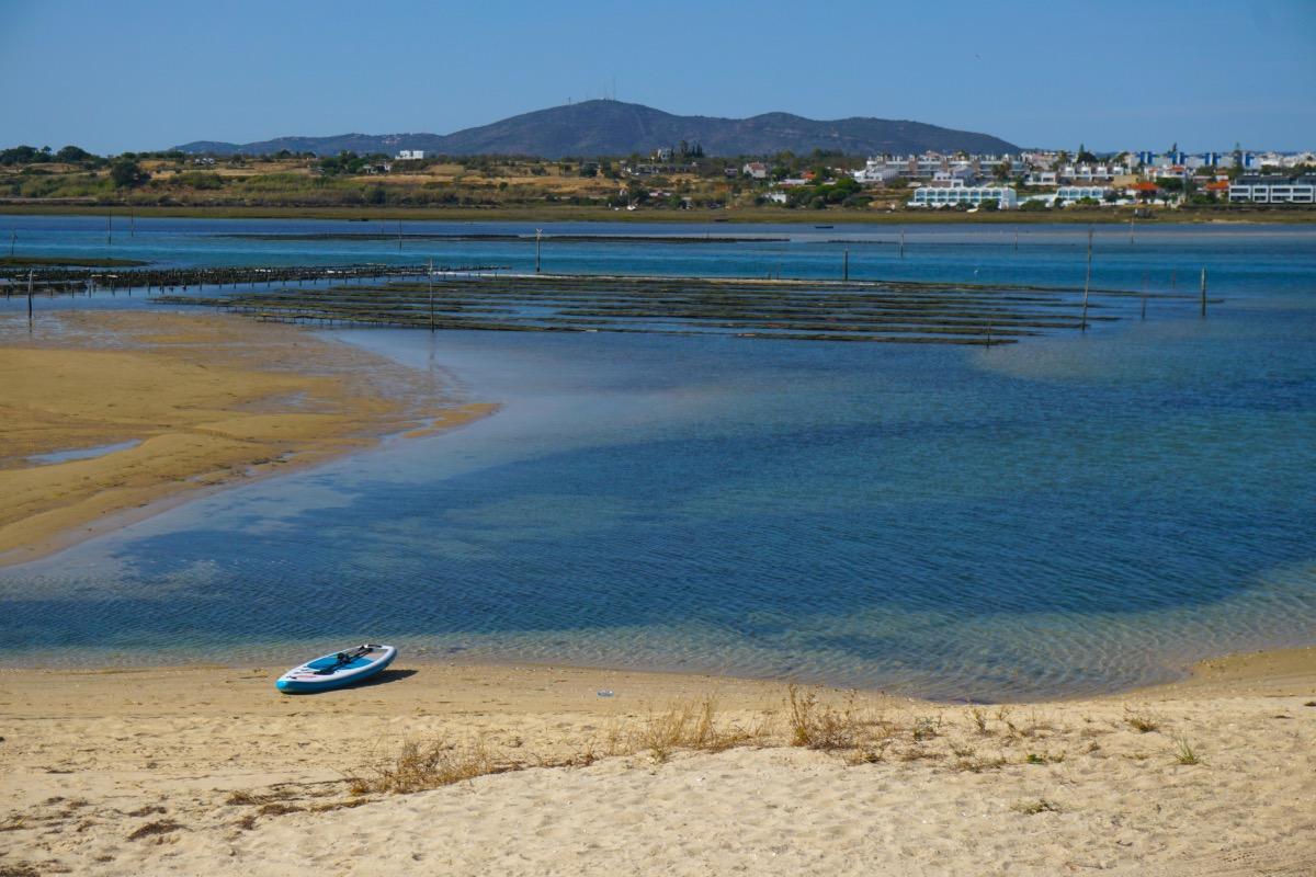 Fuseta desde la playa homónima en la isla de Armona