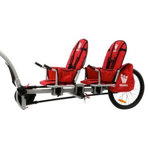 transporter son enfant à vélo avec la weehoo