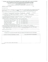 Sales Verification Form Palm Beach County Property ...