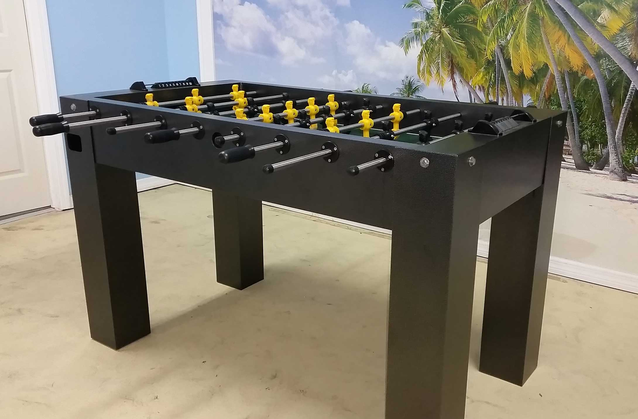 Foosball Game Table - R&R Outdoors. Inc. All Weather Billiards and Games
