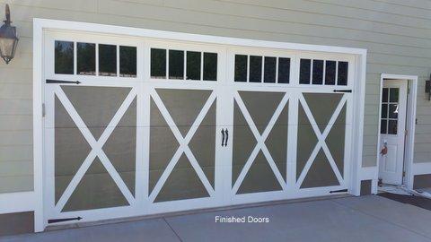 Finished Doors