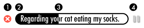 Regarding your cat eating my socks -- explained