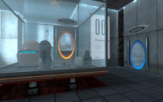 The beginning of portal