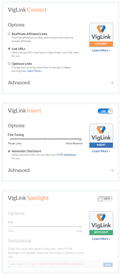 VigLink 2