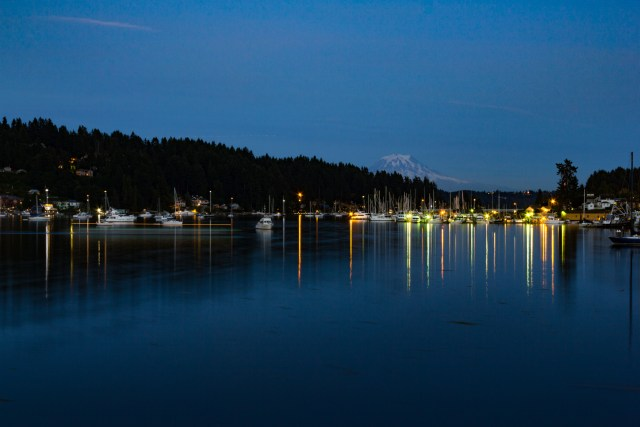 Gig Harbor, Washington. Mt. Rainier